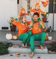 Newest Halloween Costumes Family Matching Pajamas Autumn Fam...
