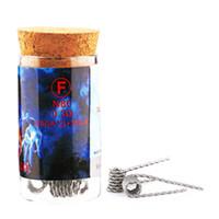 악마 살인자 화염 코일 Prebuilt 화염 와이어 N80 난방 전선 6 종류 DIY 전자 담배 RDA RTA에 맞게