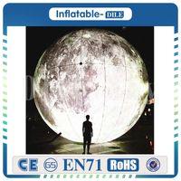 Горячие продажи 2.ой гигантская надувная луна, надувной шар луны, луна воздушный шар для событий с бесплатной доставкой