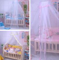 높은 품질 뜨거운 여름 아기 침대 모기장 아기 유아 아기 침대 어린이 침대 50sets / lot T2G005