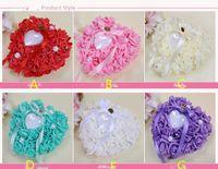 Цветочные кольца Подушки Цвета Свадебные аксессуары Свадебные принадлежности Ручной работы Цветы Свадебные аксессуары