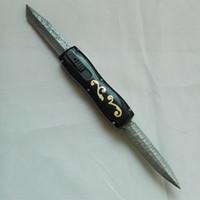OEM Benm borboleta Dibetou dupla lâmina dupla acção D2 lâmina Cupronickel + latão dobrar campismo caça sobreviver facas