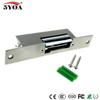5YOA الكهربائية سترايك قفل الباب الإلكترونية لنظام التحكم في الوصول جديد فشل آمنة فشل آمنة