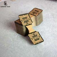 بطاقات بطاقة اليدوية المطبوعة قلادة عرض بطاقات مجوهرات سوار العلامات التعبئة بطاقة خمر الإكسسوار 100pcs التي بالجملة رخيصة