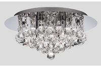Moderne runde kristall decken kronleuchter lampe federn k9 kristalle regen tropfen beleuchtung für wohnzimmer schlafzimmer dia40 * h25 cm