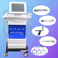 Nueva llegada Hydro Microdermabrasion Water Hydra Dermabrasion Bio RF Spa Facial Skin Pore Cleaning Microcurrent Photon Machine