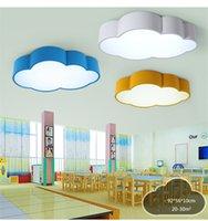Kinder Cloud Decke Licht Farbe Einfach Modern LED Schlafzimmer Zimmer Lampe  Persönlichkeit Kindergarten Lampe Nicht Dimmbar