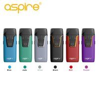 Nuovo Design Electronic Aio AIO Sistema originale Nautilus con Aspire Kit Pod 4.5ml / 2.0ml Built-in Built-in Battery Battery Sigaretta 100% 100 Xuru