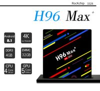 H96 Max Plus Android 8. 1 TV Box Quad Core 4GB 32GB Rockchip ...