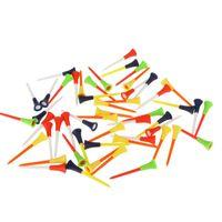 غولف كرة مسمار قمزة محكمة المواد البلاستيكية إكسسوارات سادة مطاطية أعلى سبايك ميكس اللون حار بيع 0 35jl V
