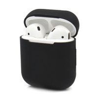 Custodia protettiva in silicone per Apple AirPods Custodia ultra sottile per iPhone Airpod auricolare in-ear Custodia a tinta unita per auricolari wireless
