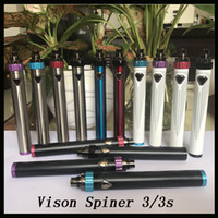 Vision Spinner III IIIS Batterie 1600mAh Spinner 3 3S Variable Spannung Batterie Top Twist vs ESMA-T Ola X VV Batterie DHL frei 0204151