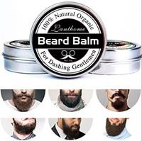 Природные борода кондиционер борода бальзам для лихой Господа 30 г натуральный органический воск усы для усов гладкая укладка