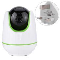 720p HD WiFi Wireless Home Camera Night Vision IR-Cut P / T Webca för barn Kids Support TF-kort Mobiltelefon fjärrkontroll