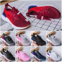 Epic React Kids knitting Sneakers Breathable Running Shoes C...