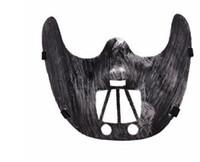 Новый Хэллоуин Маска Партия Половина FaceDance Маска Террор Маска Оптовая Размер 17 * 16 см Серебро, Кофе, Синий, Золотой