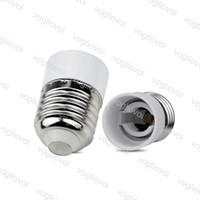 Bases da lâmpada E27 para o titular do e14 conversor conversor conversor de luz lâmpada tipo adaptador bulbos peças materiais à prova de fogo epacket