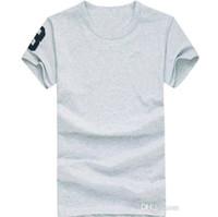 HOT 무료 배송 2020 고품질면 새로운 O-넥 반소매 T 셔츠 브랜드 남성 T 셔츠 캐주얼 스타일 스포츠 남성 T 셔츠