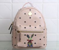 2017 new fashion rabbit backpack south Korean top quality sc...