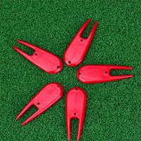 다채로운 퍼팅 그린 포크 골프 플라스틱 포크 크리 에이 티브 휴대용 안티 착용 재사용이 가능한 복구 도구 골프 클럽 액세서리 0 42zh jj