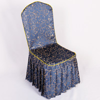 Dine Chair Cover Polyester Chair Cover Decoartion For Weddin...