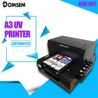 DOMSEM 2018 Custom Print A3 UV InkJet Printer for Customize ...