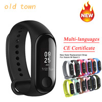 Band 3 Miband 3 Smart M3 Tracker Band Instant Message 5ATM Waterproof OLED Touch Screen smart watch for Mi