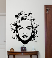 Removable Madonna Wall Decal Celebrity Pop Music Vinyl Stick...