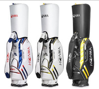 free shipping 2018 limited sale brand golf bag pu leather me...