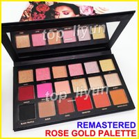 Makeup Beauty Rose Gold eyeshadow remastered palette 18 Colo...