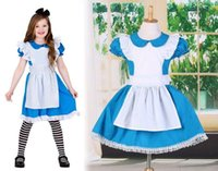 Halloween kids girl cosplay dress princess dress children st...