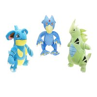 Hot ! 3 Style Golduck Tyranitar Nidoking Pikachu Plush Stuff...