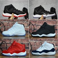 best service 21ba3 f16e2 Nieuwe Aankomst. 11 11s Space Jam gezüchtet Concord Gym Red Basketball  Schuhe ...