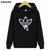 Fashion 2018 New Hoodies Men Long Sleeves Hoody Print ADI Fi...