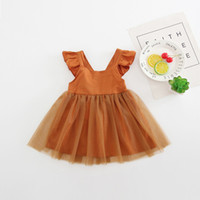 1- 6Year' s Kids Girls Sleeveless Tutu Dress Summer Holid...