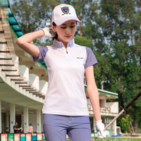 2019 Golf T Shirt Donna Tshirt 2018 Abbigliamento sportivo manica corta Top Primavera Estate Polo Plus Size