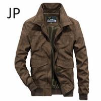 Outono novo designer masculino de secagem rápida jaqueta, manguito elástico sólido turn down collar trabalho de campo cardigan outwear do pai wholesal