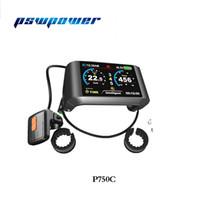 Ebike 풀 컬러 36V / 48V LCD P750C TFT-750C의 전기 자전거 8Fun / 팔방 중순 드라이브 모터 BBS01,02 사용할 수 표시 및 BBSHD
