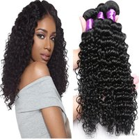 8A Brazilian Deep Curly Hair Unprocessed Indian Deep Wave 3 ...