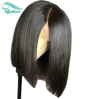 Bythair 360 Lace Wig Short Bob Pre Plucked Hairline 360 Wig ...
