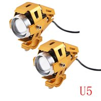 2pcs 10W 12V 3000LM U5 LED Transform Spotlight Motorcycle He...