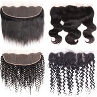 Peruvian Straight Hair 10pc Lace Frontal Closure 13X4 Free P...