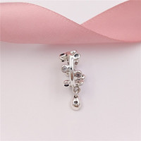 Authentic 925 Sterling Silver Beads Chandelier Droplets Spac...