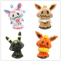 Hot ! Sylveon Eevee Flareon Umbreon Cosplay Mimikyu Plush St...