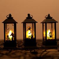 할로윈 호박 / 고스트 손 / 성 LED 조명 인공 불꽃 조명 작은 석유 램프 LED 코스프레 용품 파티 장식 할로윈 장식