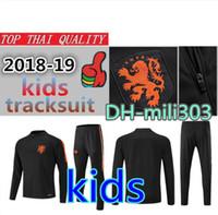 Crianças treino FUTEBOL SNEIJDER Conjunto de futebol 18 19 Países Baixos  crianças Fato de treino 2018 e180356aa645c