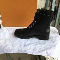 Moda Kadın Tüm Renk Deri Yürüyüş Ayakkabıları çöl Boot Toptan Kış Kar Boot platformu çizme Açık Çalışma Boots Eğlence Ayak Bileği Boots42
