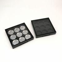 Коробки тени глаза пустые кастрюли тени для век Фирма ПАЛИТРА случае для макияжа тени для век паллета быстрая доставка F1394