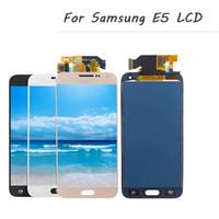 Para Samsung Glaxy E5 E500 E500F E500H E500M módulo del panel de exhibición del LCD + pantalla táctil Digitalizador Sensor Asamblea
