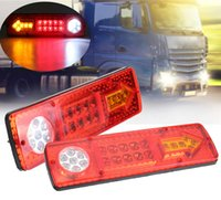 2 Pcs 23 LEDs Car Rear Taillight Stop Brake Tail Lights Turn...
